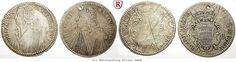 RITTER Ragusa, 2x Tallero 1762, 1767, Rektoratstaler, Dav. 1639 #coins