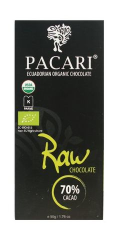 Multiple Gold Medal winner at the International Chocolate Awards 2012. Probably the BEST chocolate bar in the world.   Pacari 70% Raw Chocolate Bar.   $34.99 for a 5 pack. Bargain.