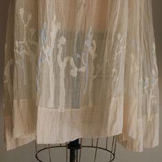 joshua trees embroidery on a dosa dress, via workshop