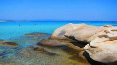 Shore of Vourvourou, Peninsula of Sithonia, Chalkidiki, Greece  TBoH