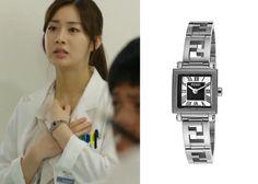 "Kang So Ra in ""Doctor Stranger"" Episode 16.  Fendi Orologi Black and White Watch #Kdrama #DoctorStranger #KangSoRa #강소라"