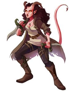 [OC] Commissioned my Tiefling Rogue/Warlock : DnD Tiefling Female, Dnd Tiefling, Tiefling Rogue, Warlock Dnd, Character Creation, Character Concept, Character Art, Character Design, Character Ideas