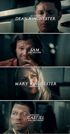 We're the guys who saved the world. #spn