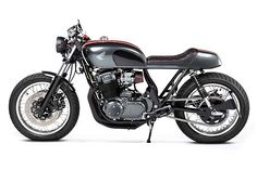 Honda CB750 1978 Cafe Racer by Mighty Motorcycles #motorcycles #caferacer #motos | caferacerpasion.com