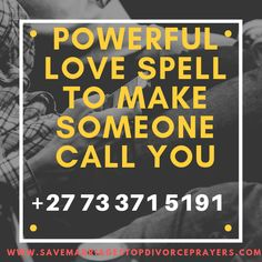 My powerful love spells are so unique that you will not find them with every spell caster.