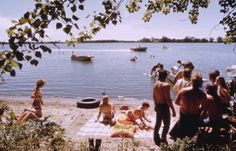 A day at the lake 1970s