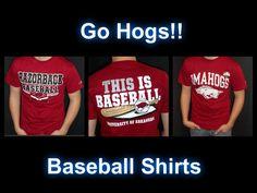 Arkansas Razorbacks Baseball T-Shirts
