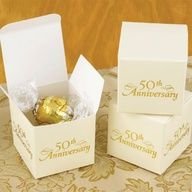 50th wedding anniversary ideas for party