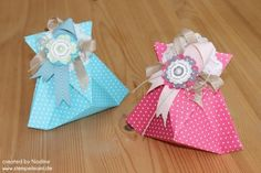 Stampin Up Geschenktuete Bag Box Verpackung Swap Give Away Gift Idea Origami