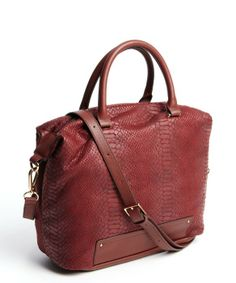 622980ab710f Kelsi Dagger   rust croc-embossed  Crown Heights  convertible bag   style    324588801