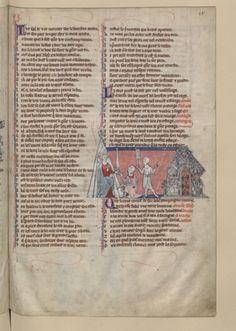 Français 24364, fol. 28, Reddition d'Araine 1308-12