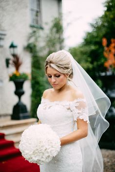 McGarry wedding hydrangea Fermanagh N.Ireland bouquet