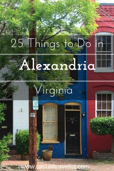 25 Things to do in Old Town Alexandria, Virginia - Casual Travelist