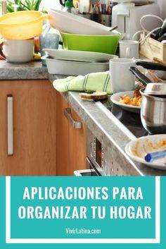Aplicaciones gratis para organizar tu hogar. Elimina el desorden de tu casa. Todos pueden participar en el proceso. Tips para el hogar.