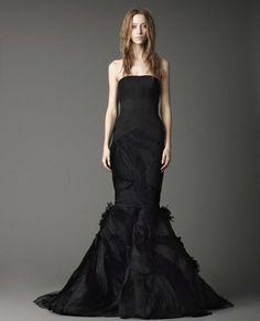 Bridal Fashion for a Halloween themed wedding