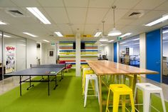 Frucor Informal Area Shot 2 700x466 Frucor Beverages Auckland Offices / Spaceworks