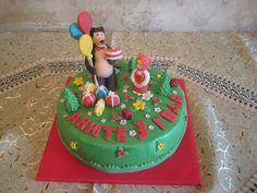 Маша и медведь. Вкусный подарок маленькому сластене. Заказать такой торт можно на сайте Tortim.ru