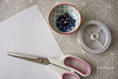 DIY: Origami/Plissee-Anhänger - Smillas Wohngefühl Origami Design, Diy Origami, Christmas Decor, Diy, Craft, Print Paper, Paper Art, Simple Diy, Braid