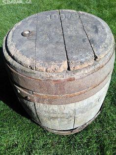 Prodám starý pivní dřevěný sud, vhodný jako - obrázek číslo 1