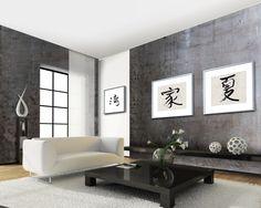 Newly R10 schilderij ophangsysteem, een zeer compacte rails in een huiskamer situatie
