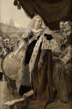 O Jubileu de Diamante da rainha Vitória em 1897 foi uma afirmação do direito moral da Grã-Bretanha de dominar e expandir-se pelo planeta, uma declaração de sua condição de mandachuva no mundo de competição implacável da política internacional e uma reafirmação da auto-suficiência da Grã-Bretanha e do império. Demonstrava que o Império Britânico era, como …