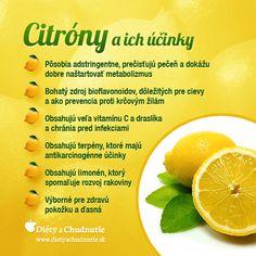 Určite každý z vás veľmi dobre pozná liečivú silu tohto južného ovocia. Citróny môžete použiť pri detoxikácii organizmu, na zrýchlenie metabolizmu a tým aj na... http://www.dietyachudnutie.sk/ako-schudnut/ako-schudnut-detoxikacia-citronmi/