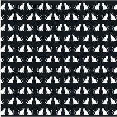 Silhouette Design Store: 12 x 12 cat cut out paper