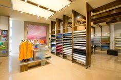 Linen Club Store by JGA and FRDC » Retail Design Blog