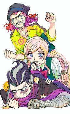 Kazuichi, Sonia and Gundam