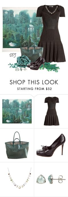 """Alexander McQueen Dress"" by s-p-j ❤ liked on Polyvore featuring Alexander McQueen and Pomegranate"