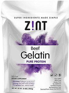 Unflavored Gelatin Powder (32 oz): Anti Aging Collagen Su... https://www.amazon.com/dp/B0128721KY/ref=cm_sw_r_pi_dp_U_x_LZTqBbS0SJ829