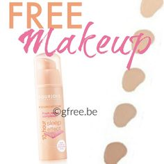 Free Makeup! 210 FREE Bourjois Foundation {Product Tests}