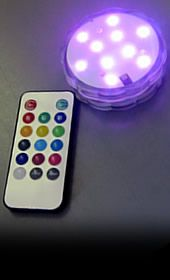 Decorative Waterproof LED Light with Remote