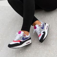 Nike Air Max 90 Floral Print Womens Pink Purple Wild Rose