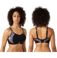The Panache® Women's Non-Wired Sports Bra offers support for every sport. Considered the D+ specialists, this low-impact bra dramatically reduces movement in all directions by individual encapsulation. The convertible racerback design lifts, shapes, and supports you from all sides. Padded straps disperse pressure, molded inner cups reduce friction, and mesh panels keep you cool. For firm support without the wires, wear this Panache® bra.