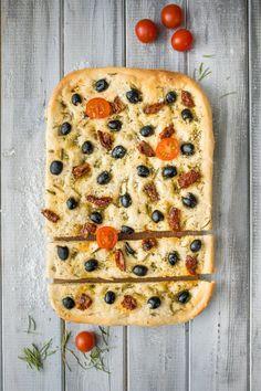 Focaccia   Koření od Antonína Korn, Dumplings, Quiche, Pizza, Bread, Breakfast, Morning Coffee, Brot, Quiches