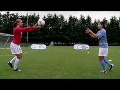 Alex Morgan Soccer Workout: Ball Toss