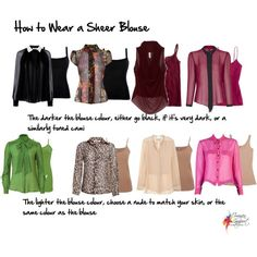 How to wear a sheer blouse by imogenl on Polyvore