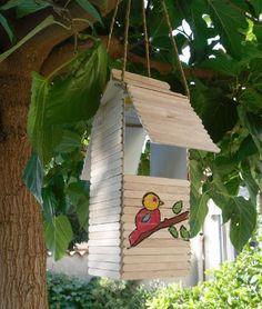 Abri pour oiseaux , Tuto pour fabriquer - Loisirs créatifs