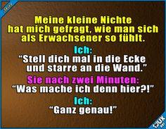 Ja, das trifft es ganz gut ^^'  Lustige Sprüche / Lustige Bilder #Humor #lustig #Sprüche #1jux #lustigeBilder #lustigeSprüche #Jodel #Erwachsen #sowahr