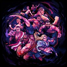 Conheça Gian Galang, o artista que transforma astros do UFC em incríveis ilustrações (Foto: Lendas do UFC)