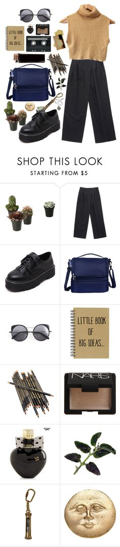 """""""VERY STRANGE WAYS TO BE INSPIRED"""" by mattressqueen ❤ liked on Polyvore featuring Marc by Marc Jacobs, WithChic, Wildkin, Wood Wood, CASSETTE, NARS Cosmetics, Aéropostale, Hourglass Cosmetics and Alkemie"""