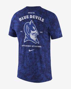 Nike College (Duke) Men's T-Shirt. Nike.com Duke T Shirts, March Madness, Retro Look, Royal Fashion, Nike, College, Mens Tops, Style, Swag