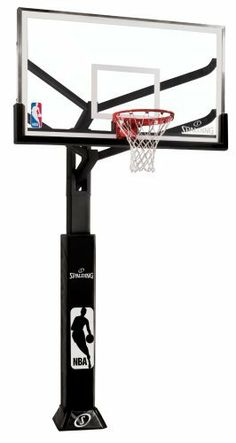 "Spalding Arena View In-Ground Basketball System with Acrylic Backboard, 72-Inch by Spalding. $1499.99. 180° Breakaway rim for professional level performance. U-Turn Pro system provides infinite height adjustment from 7' to 10'. 1/2"" thick acrylic backboard. 72"" steel framed acrylic backboard with aluminum trim. Board has 4' offset from pole. Ready for some hard-core basketball? The Spaulding Arena View Inground System is a basketball hoop worthy of intense competi..."