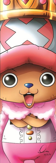 Tony Tony Chopper | 15th Anniversary | by yifeicryst.deviantart.com on @DeviantArt