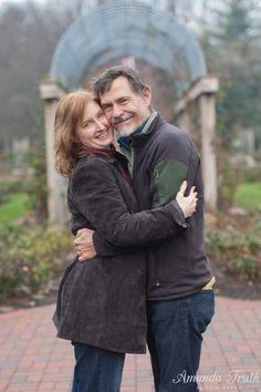 Amanda Truth Photography | older couple engagement session
