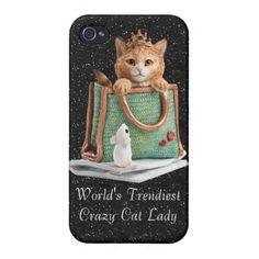 World's Trendiest Crazy Cat Lady Princess Kitten