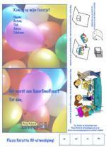 Uitnodiging feestje 3D
