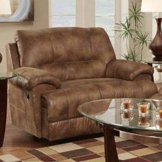 Chair And A Half Rocker Recliner Chair And A Half Rocker Recliner - Ideas on Foter Black Dining Room Chairs, Industrial Dining Chairs, Living Room Chairs, Office Chairs, Rocker Recliner Chair, Leather Recliner Chair, Leather Sofas, Upholstered Swivel Chairs, Chair And Ottoman