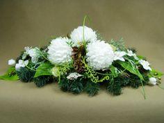 CHRYZANTEMY białe palma 1000 Kompozycje kwiatowe Marko604
